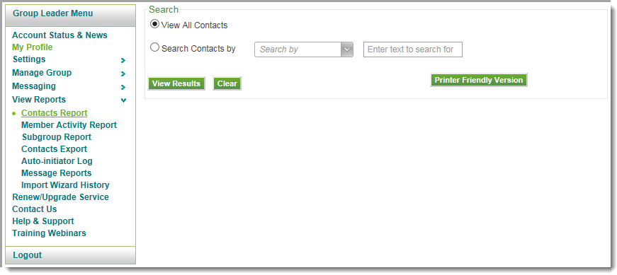 it contact list